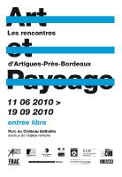 Avenel J., Bouthier P., Cuin N., Jacques P., Petetin C., Soulier H.., Zébo J.-C., « Art/ Design/ Architecture/ Paysage/ Scénographie Urbain», Art et Paysage- Les rencontres d'Artigues-Près-Bordeaux/ L'album 2010, Ville d'Artigues-Près-Bordeaux, 2011, p. 6.