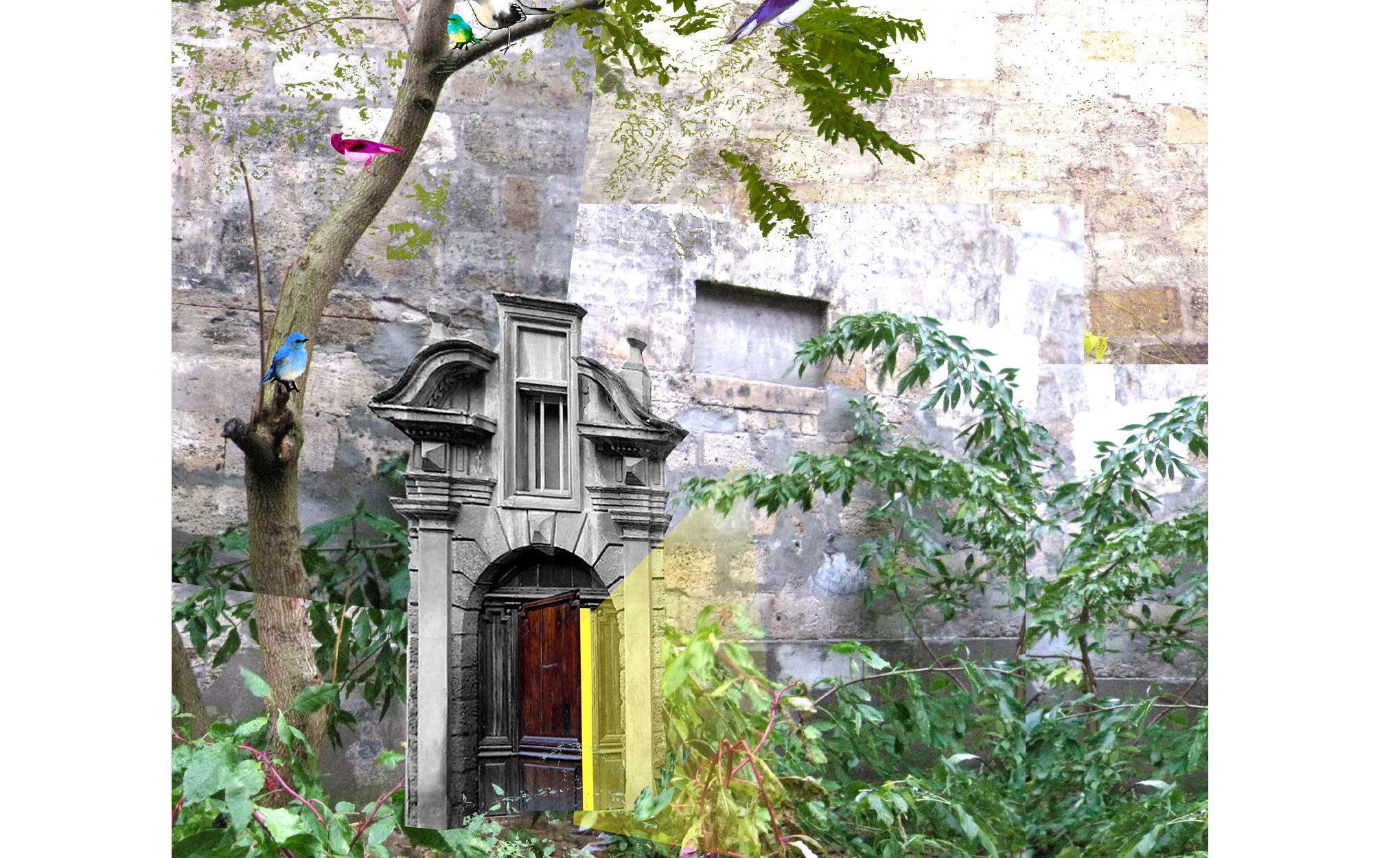 Hélène Soulier paysagiste Bordeaux, enseignante Ecole Nationale Supérieure d'Architecture et du Paysage de Bordeaux, ensapBx, jardins, châteaux, installations, workshops, Exodo installation