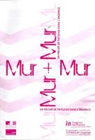 Soulier H., Mur-Mur, un projet de paysage dans l'urgence, ENSAPbx, Bordeaux, juillet 2010, 8 p.